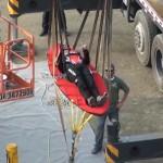 超High玩法:巨型弹弓把人射向高空 时速达120公里