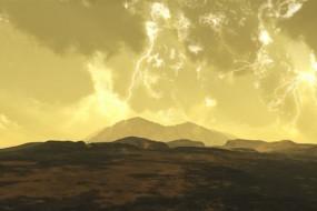 """""""地狱行星""""每小时一万亿束闪电"""