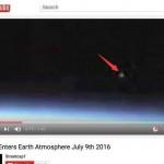 NASA直播突现UFO 镜头被切断遭网友质疑