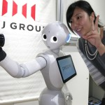 日本超强机器人登陆台湾 能察言观色