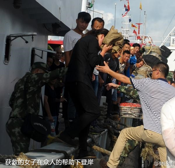 上海女游客从日本回国邮轮坠海:漂游38小时奇迹生还-趣闻巴士