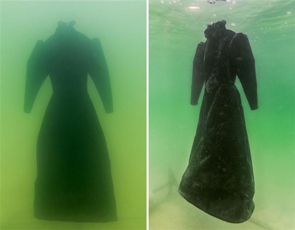 黑色长裙在死海浸泡两年…结果惊艳了-趣闻巴士