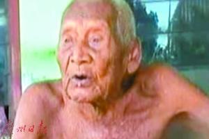 长寿也孤独 印尼145岁老人只剩孙辈陪伴