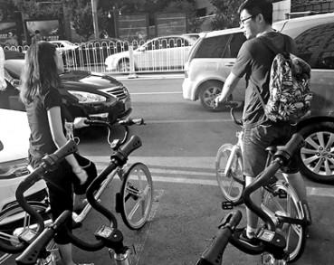 北京出现网约自行车 不设固定还车点