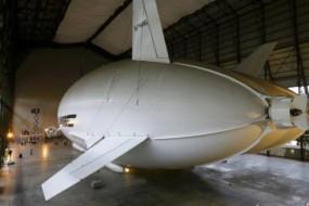 全球最大飞行器测试 垂直起降可落在水面