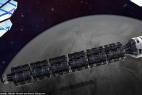火星飞船设计曝光 单程只需37小时