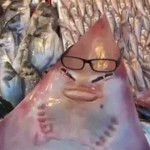 渔民捕到神秘深海鱼 竟长一副人脸