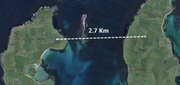 世界最短航班 距离2.7公里飞47秒就落地