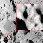 月球表面发现黑色钉状物 疑为外星人天线