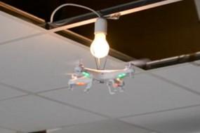 超级玩家遥控飞机换灯泡