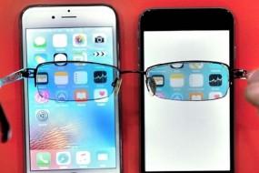 保密手机只有戴特制眼镜才能看到字