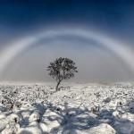 罕见雾虹照片 如入奇幻秘境