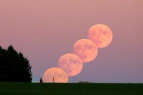 今晚月亮超级大 68年来离地球最近
