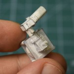 牛人造微型发动机 指甲盖大能正常运转
