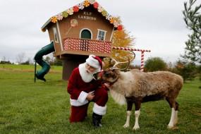 """揭秘圣诞老人是如何""""炼""""成的"""