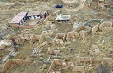探访一个人的村庄 气候变迁导致大量空心村