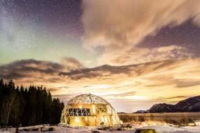 北极的海景房 夫妇建了一个科幻又实用的家