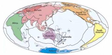 科学家宣称发现新大陆 位于澳大利亚东海面以下