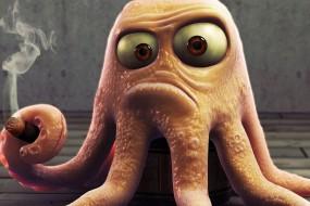 """章鱼""""聪明""""之谜揭晓 罕见的进化机制"""