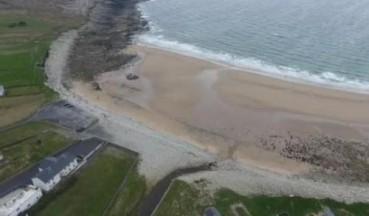 神奇沙滩数次消失 每隔30年又出现