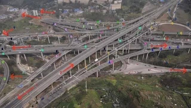 重庆刚完工的这座立交桥,导航都看哭了(组图)-趣闻巴士