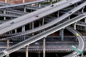 重庆最复杂立交桥完工 5层15条匝道让导航也罢工