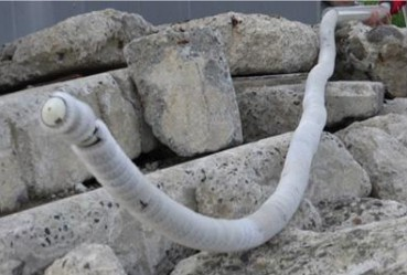 日本造出机器怪物 前进方式奇特像条巨蛇