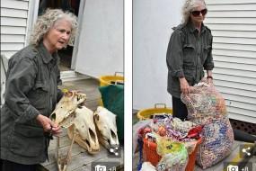 现实版鲁滨逊 加拿大女子荒岛独居40年