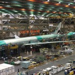 世界最大单体建筑波音飞机工厂 50个足球场大 每月造50架飞机