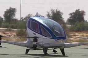 迪拜全球首款飞行出租车上天 由中国公司研制