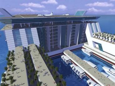 海上漂浮城市能容纳5万永久居民