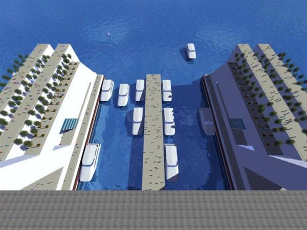 壮观!全球首个海里移动城市:容纳5万人 2年绕地球一圈-趣闻巴士