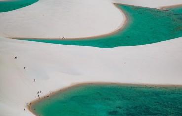巴西沙丘奇观:雨季成湖 旱季又成沙漠