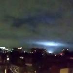 墨西哥大地震后天空惊现神秘蓝光