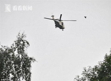 直升机驾驶员千米高空突然失踪