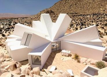 设计师欲在沙漠建超科幻外星建筑