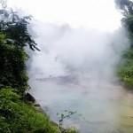 秘鲁神秘河流河水沸腾 水温高达100℃