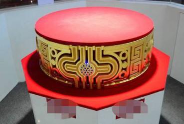 重达82.2公斤 山东造世界最大金戒指