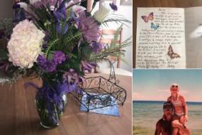 她年年生日收到亡父送的鲜花 最后一束感动百万网友