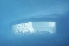 挪威餐厅一半在海底 吃饭时能观赏海底景象