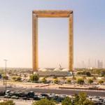 """迪拜""""画框""""开放迎客 被称偷来的建筑"""