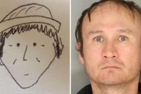 美警员借助一张涂鸦人像成功锁定嫌犯