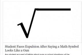 美国一中学生遭开除轰动全国 只因他在课堂开了个玩笑