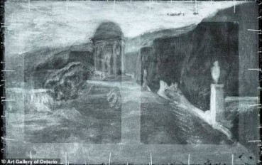 毕加索画作秘密被发现 内含其他人作品