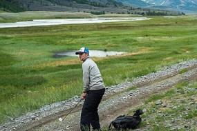 世界最远高尔夫球洞 2400公里穿越蒙古国