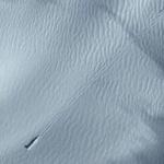 南极卫星图发现神秘物体 后面拖一长条滑痕