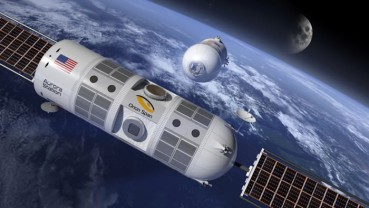 2022年开业太空酒店每晚8万美金 近地轨道运行