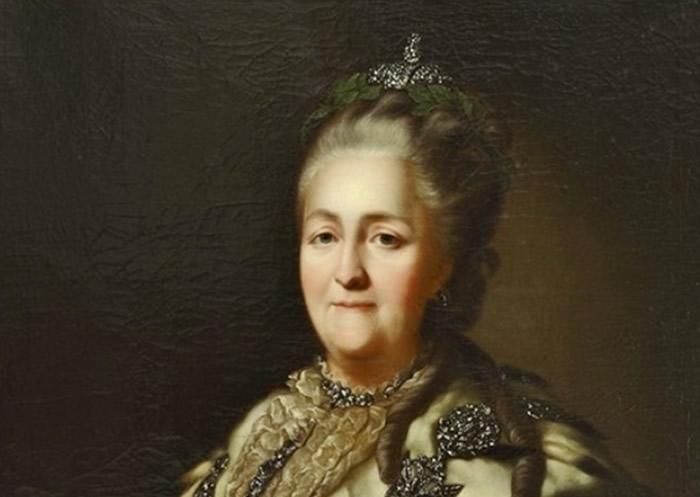 俄罗斯女王叶卡捷琳娜二世曾为睡狮主人。-趣闻巴士