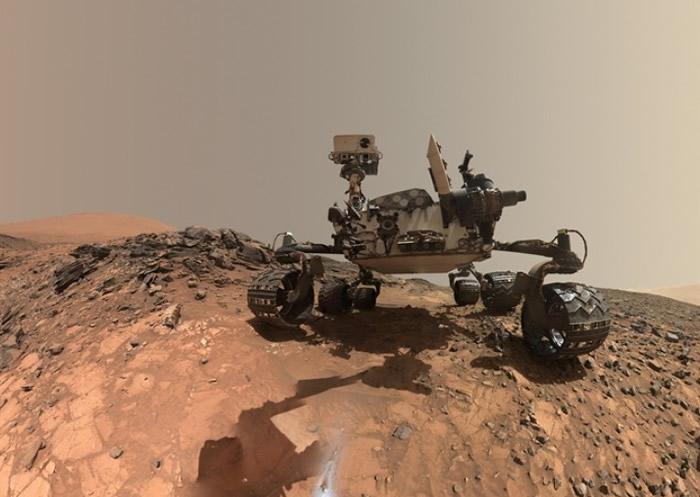 好奇号于火星地表,发现了目前最复杂的有机物。-趣闻巴士