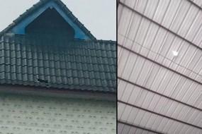 天降陨石砸破屋顶 村民搜寻高价售卖